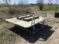 Double ATV/snowmobile deck with ramp  Weyburn, S4H 1M3