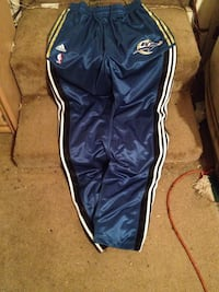 Rare Vintage Blue white and gold Minnesota timberwolves adidas track pants Jacksonville, 32209