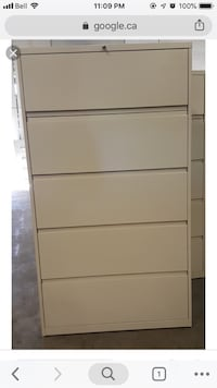 Steelcase filing cabinets 538 km