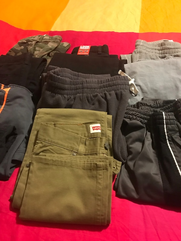 Boys size 10, 12 and 14 size long pants