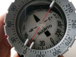 Suunto diving compass