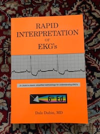 Rapid Interpretation of EKG's by Dubin Kensington, 20895