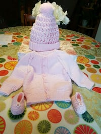 Hand made baby's knitting clothes  Barrie, L4N 9Z1