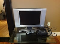 gray flat screen television with remote LaGrange, 12603