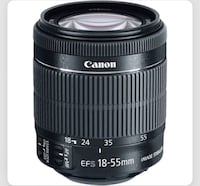 New canon image stabilizer lens  Vancouver, V6B 6G1