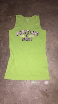 green and black tank top