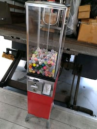 Vintage gumball candy toy machine