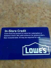 Lowes gift card Colusa, 95932