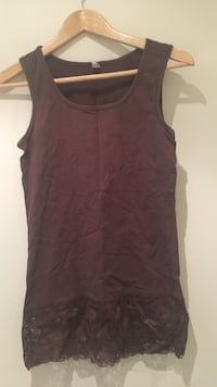 Brun laced tank top 6248 km