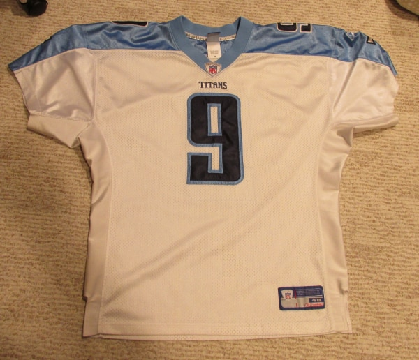 newest 73210 925cd Steve McNair Authentic Titans Jersey Size 48