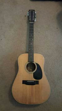 1970s ibanez 12 string acoustic guitar
