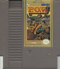 NES P.O.W. Prisoners of War Original NES game cleaned, tested and working ++++++++++++++++++++++++++++++++++++++ Pick-up in Newmarket