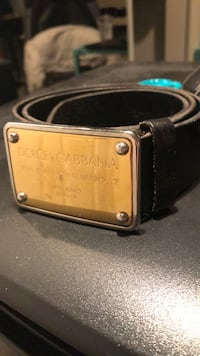 Authentic Dolce & Gabbana Leather Belt