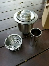 stainless steel drain and strainer set Toronto, M9R 2B9