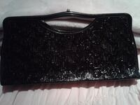 Vintage clutch patterned leather! Happy Valley, 97086