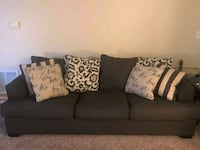 Like-new Upholstered Couch Quincy, 02169