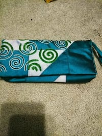 blue and green floral wristlet Buford, 30519