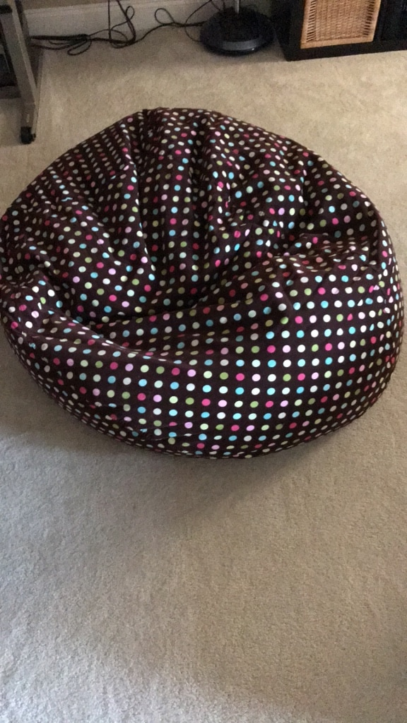 used pottery barn bean bag chair for sale in milton letgo rh us letgo com