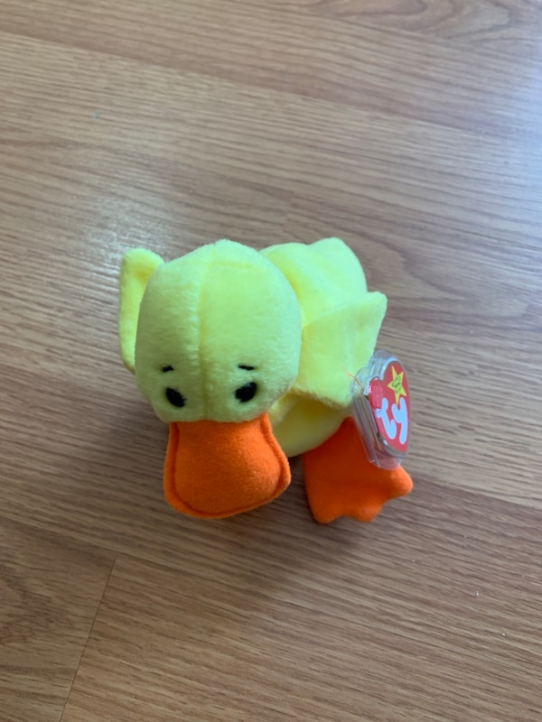 Used Quackers TY beanie baby for sale in Jersey City - letgo 61005047f069