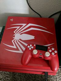 red Sony PS4 pro with controller Smyrna, 30080