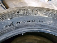 used P215/60r16 tires Sioux Falls, 57103