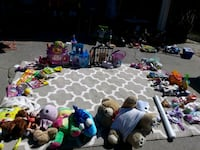 assorted plastic toys and dolls Parkway-South Sacramento, 95823
