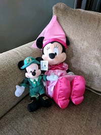 Mickey and Minnie mouse plush toys Lakewood, 44107