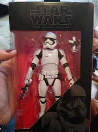 white Star Wars Storm Trooper action figure Miami, 33131