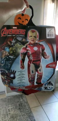 Toddler Iron Man costume 2-4t