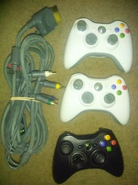 Xbox 360 Controllers and HD cable! North Vancouver, V7L 3N3