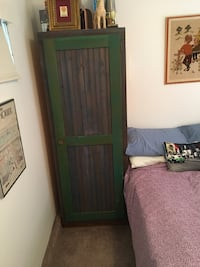 Green armoire shabby chic Los Angeles, 90066