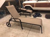 2 lawn lounge chairs  Mantoloking, 08723
