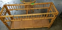 2 set wicker sofa table and round table 267 mi