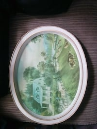 Antique tray Hamilton