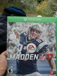 Madden NFL 17 Xbox One game case Sparks, 89431