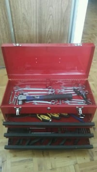 red and black tool chest Brampton, L6S