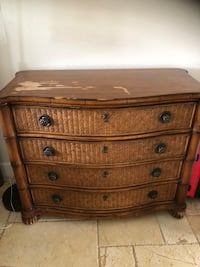 Two Tommy Bahama dressers . Some repair work needed to one as seen in picture  Newport Beach, 92660