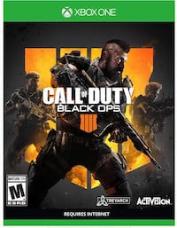 Call of Duty: Black Ops 4, Activision, Xbox One Manassas, 20109