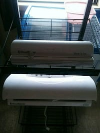 two white split-type air conditioners Fayetteville, 28301