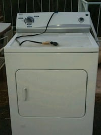 white front-load clothes washer 2221 mi