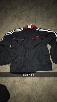black and red Adidas jersey shirt Janesville, 53548