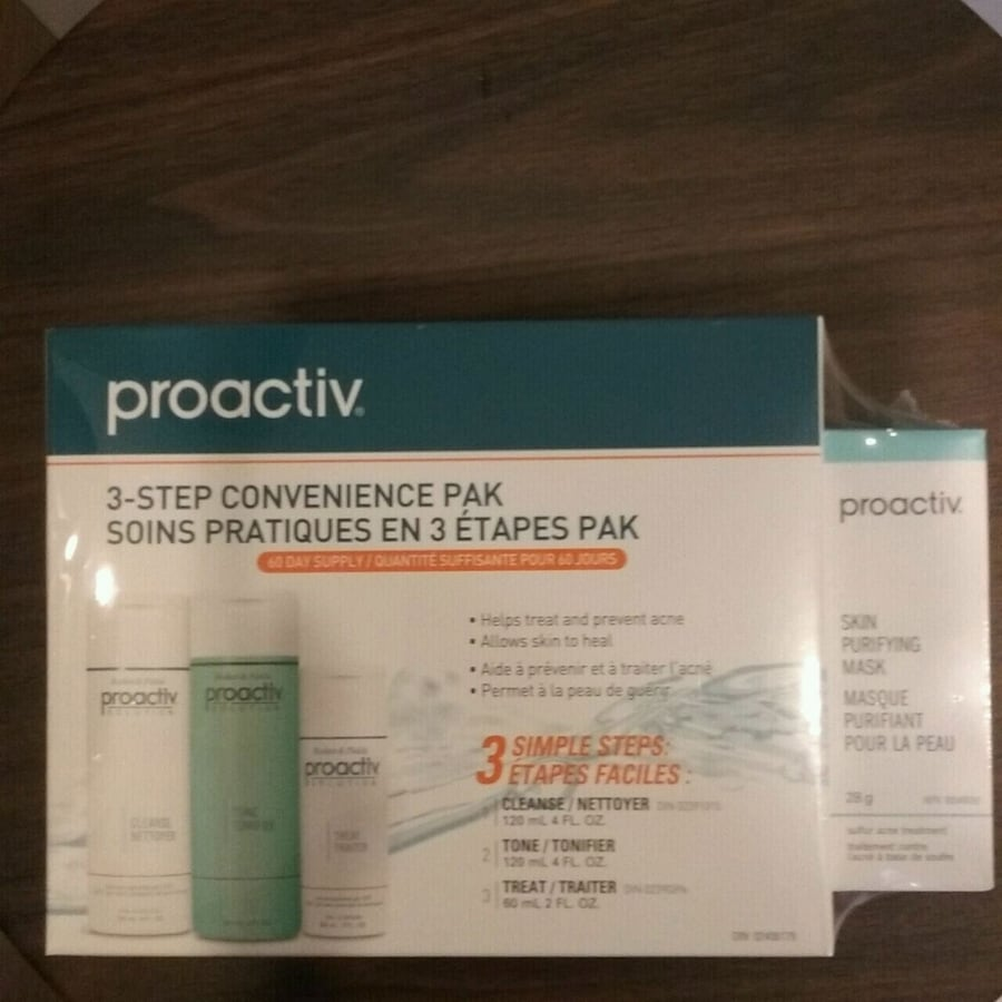Proactive  3 step convenience pack