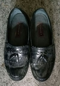 pair of black leather dress shoes Boca Raton, 33428