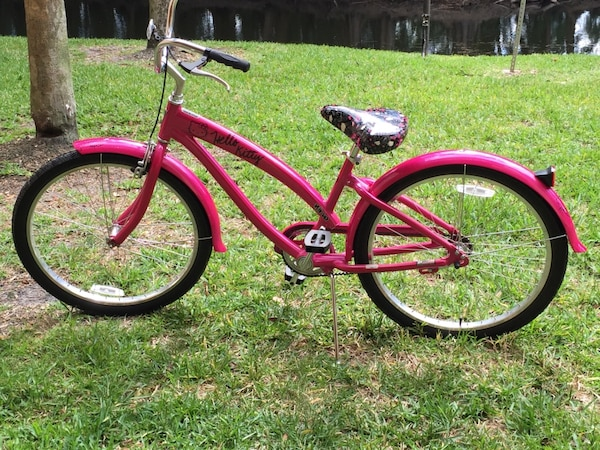 9036a14d1 Used Nirve women's hello kitty beach cruiser bicycle euc for sale in  Plantation - letgo