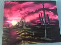 Arizona Desert Sunset Original Jackson, 08527
