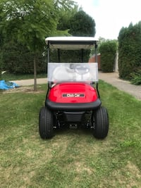 Red lift golf cart Waterford, 48329