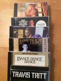 25 CD's. Variety. Reba, Mariah, Little River Band. All in sleeves