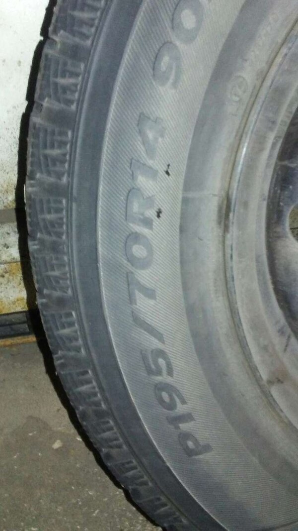 Used 4 Studded Snow Tires On Camry Wheels For In Colorado Springs Letgo