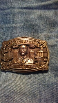 Frank James belt buckle  Des Moines, 50315