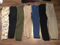 four black, white, and blue pants Barrie, L4N 7B3